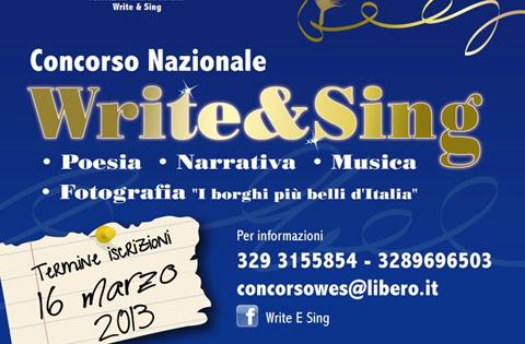 Write & Sing