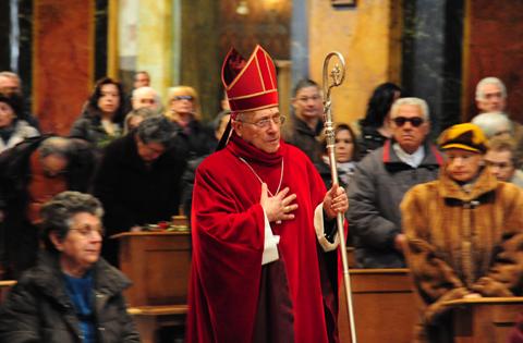 Domenica Delle Palme Vescovo Delio Lucarelli