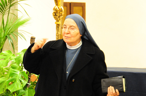 Suor Cristina Cruciani