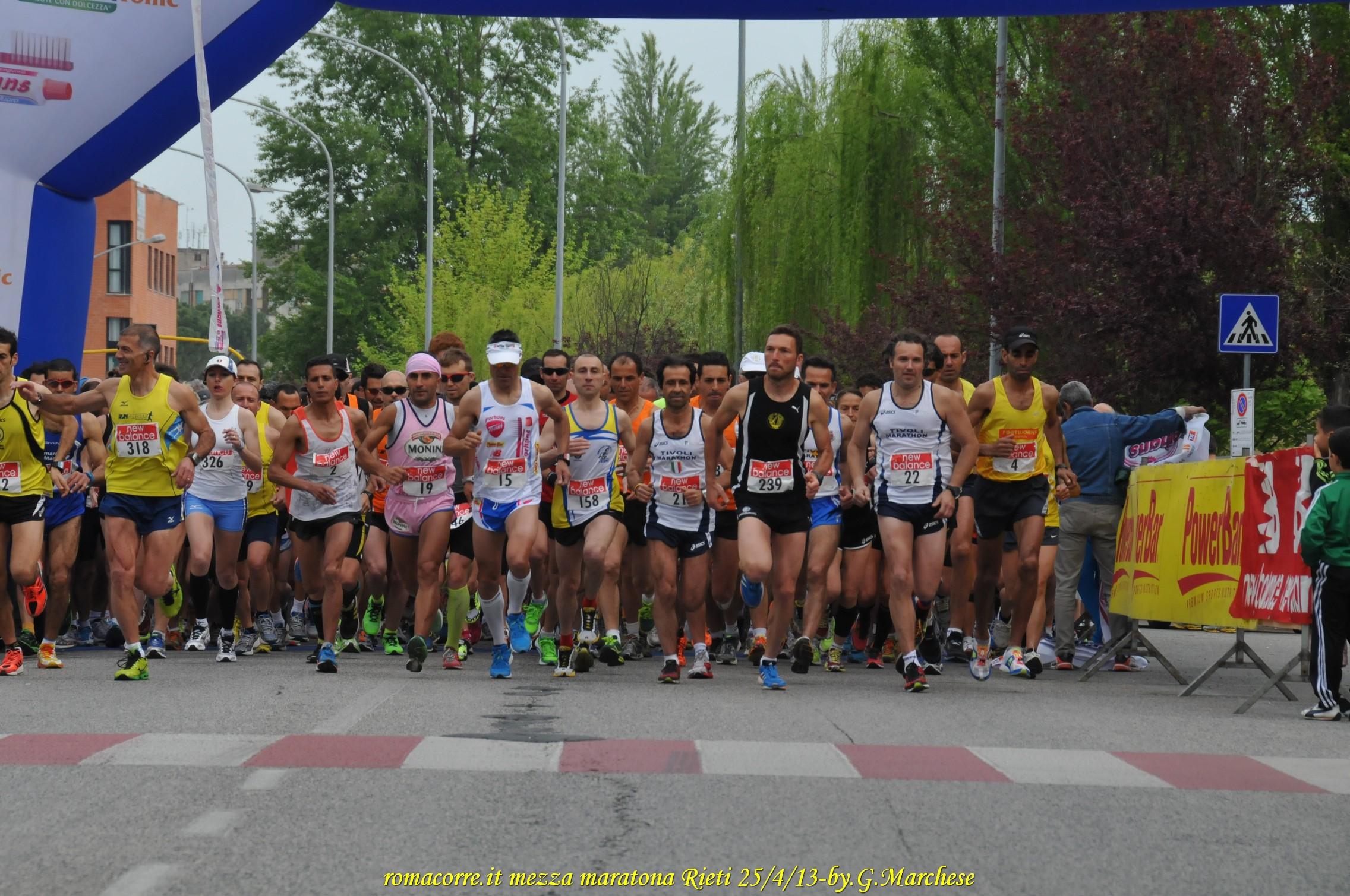 Mezza maratona di Rieti