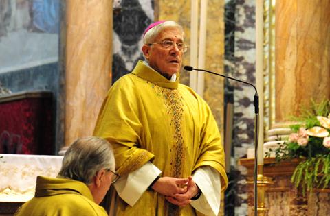 Delio Lucarelli, vescovo di Rieti. Pasqua 2013
