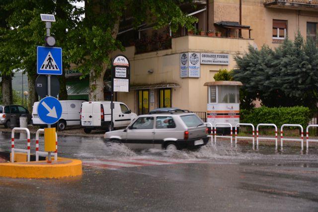 Maltempo a Rieti. Foto di Massimo Renzi.