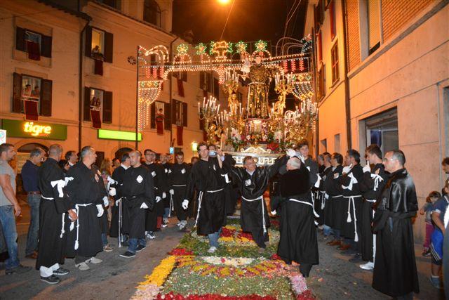 Giugno Antoniano 2013, Processione dei Ceri. Foto di Massimo Renzi