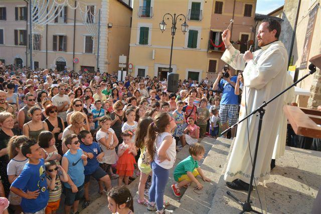 Giugno Antoniano 2013, giornata dei bambini. Foto di Massimo Renzi