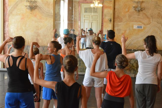 Rieti Danza Estate, le prove. Foto di Massimo Renzi