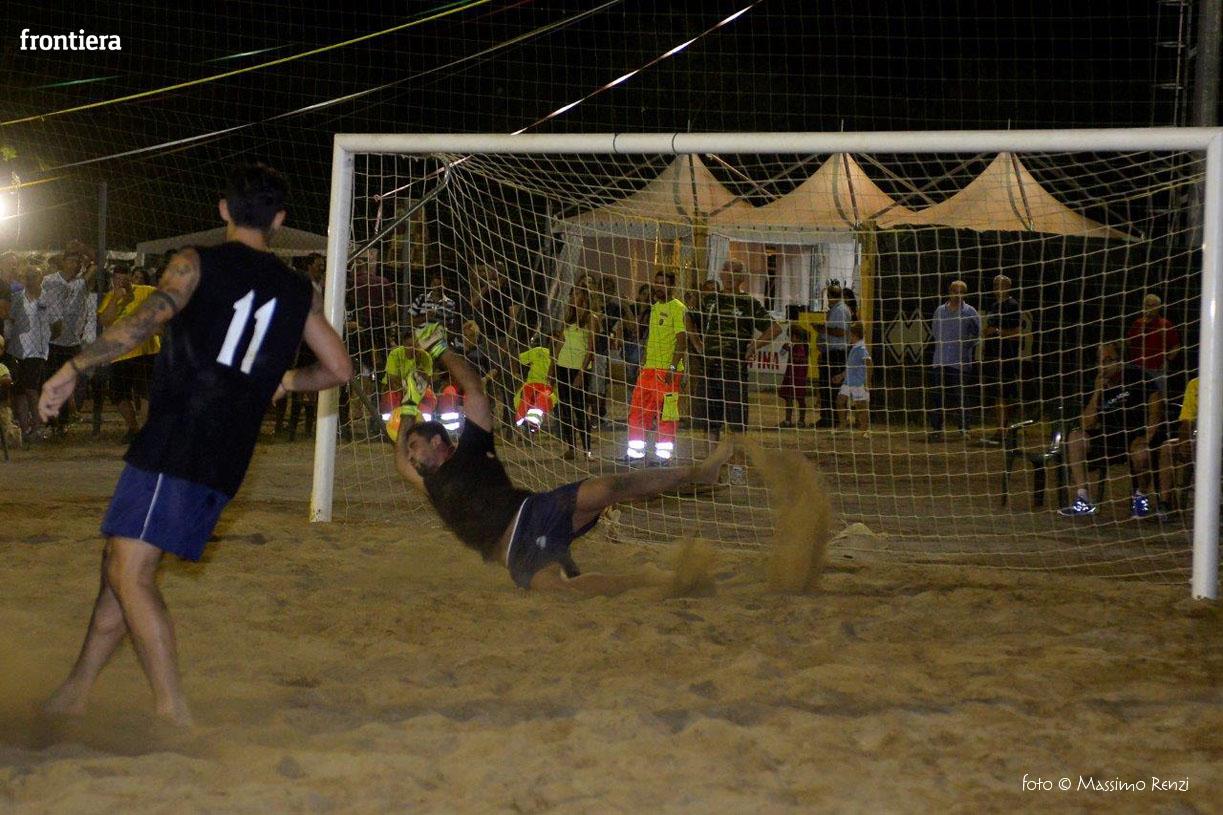 Beach soccer: a Piani Poggio Fidoni il Memorial Chiavolini