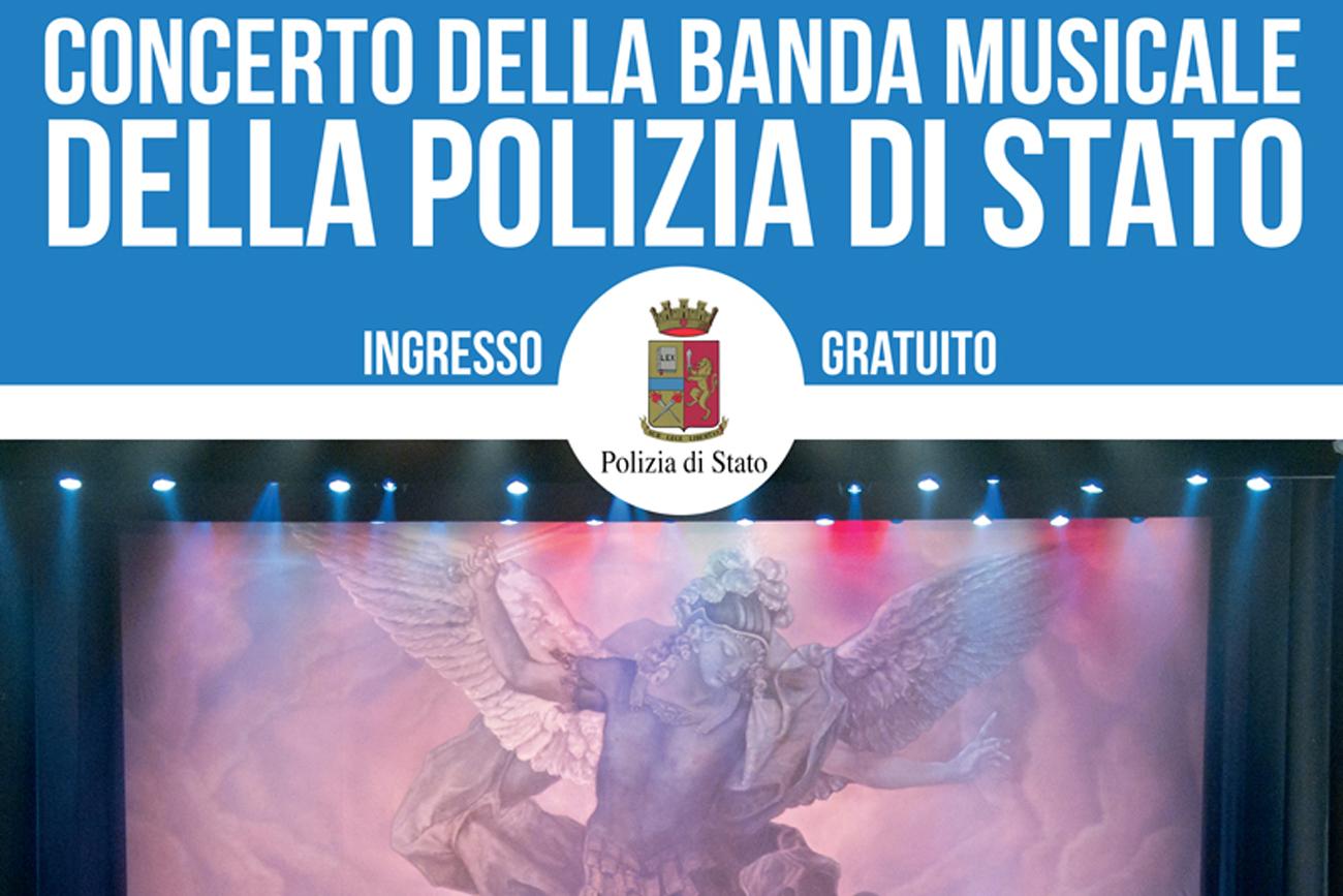 Concerto della Banda Musicale della Polizia di Stato per S. Barbara