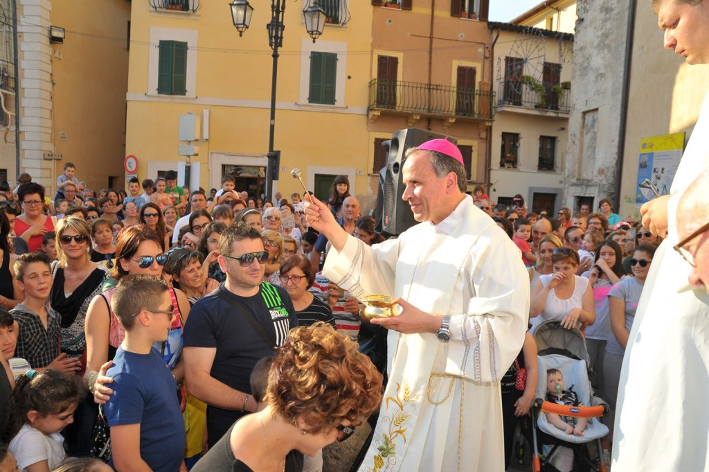 Giugno Antoniano, Benedizione dei Bambini
