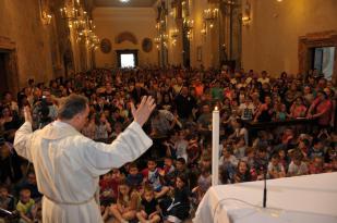 Giugno Antoniano / Benedizione dei bambini
