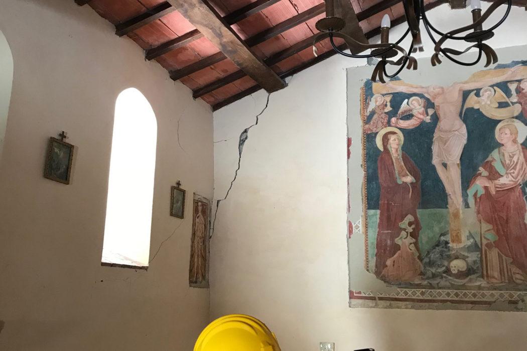 Piccolo Ufficio Della Madonna : Al via la messa in sicurezza della u cmadonna della croceu d