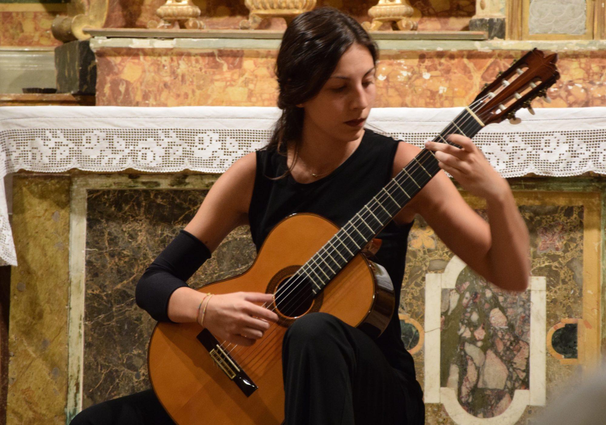 Concerto di Chiatarra Classica di Valeria Palladino
