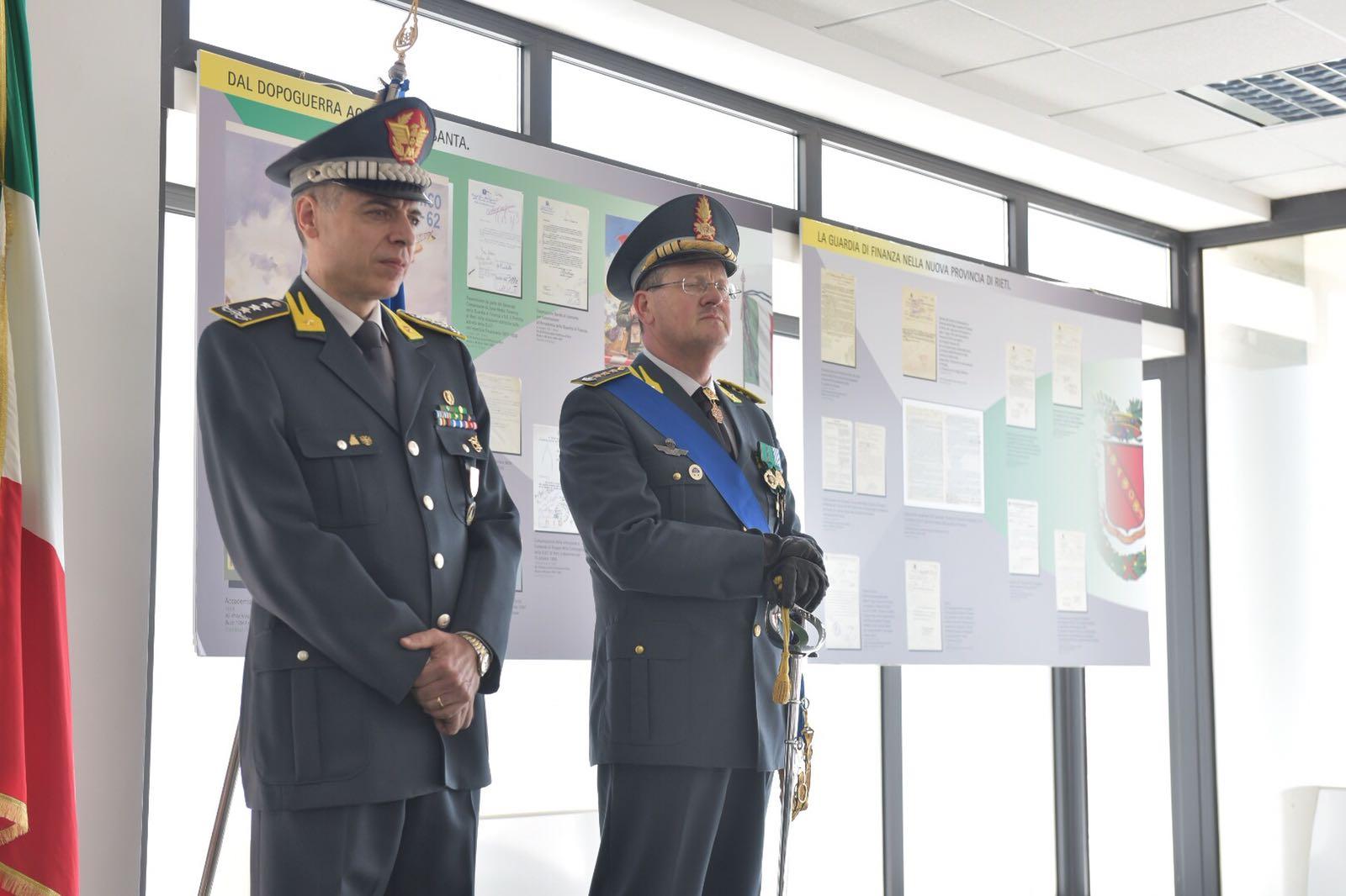 e8f49c60ee Cambio al vertice del comando provinciale della Guardia di Finanza ...