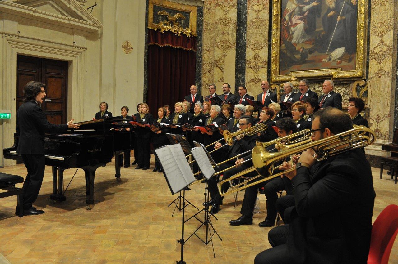 Cori delle terre del sisma del Centro d'Italia / Coro lirico dell'Umbria e Coro Polifonico Orpheus
