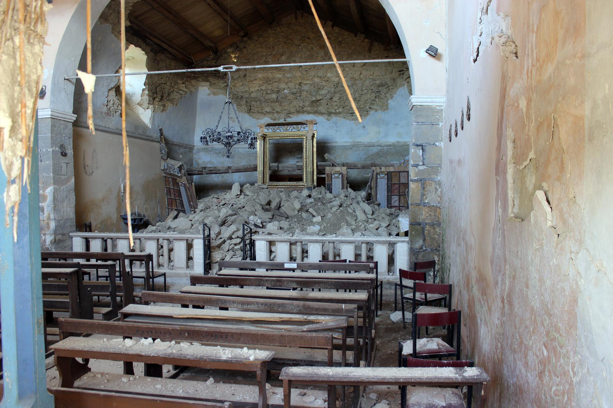 Accumoli, chiesa della Madonna delle Coste
