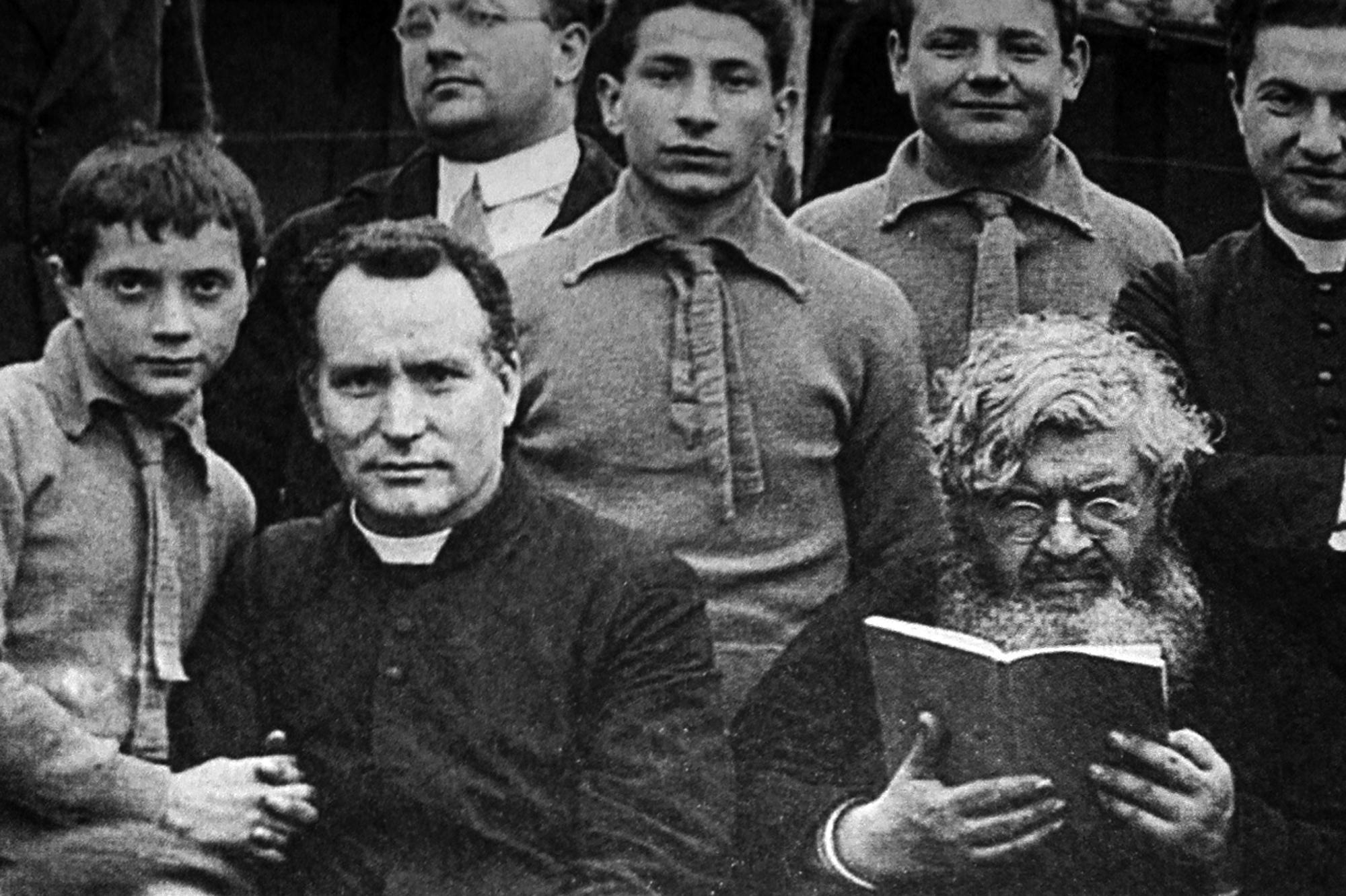 Santa Barbara / Omaggio a Padre Giovanni Minozzi