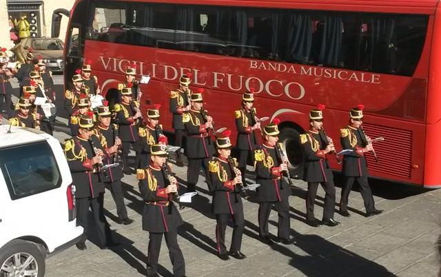 Santa Barbara / Concerto della Banda Musicale del Corpo Nazionale dei Vigili del Fuoco