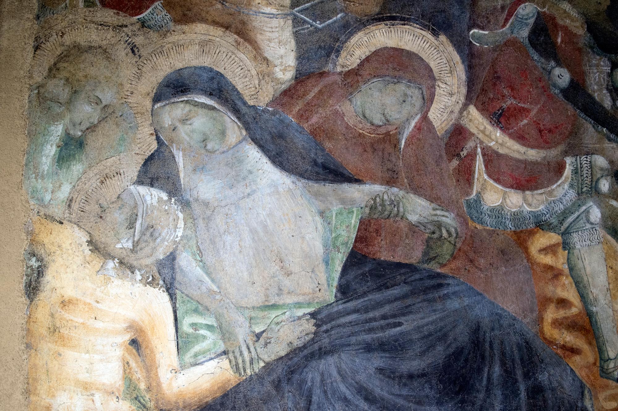 Inaugurazione del restauro dell'affresco della «Crocifissione» attribuito a Liberato di Benedetto