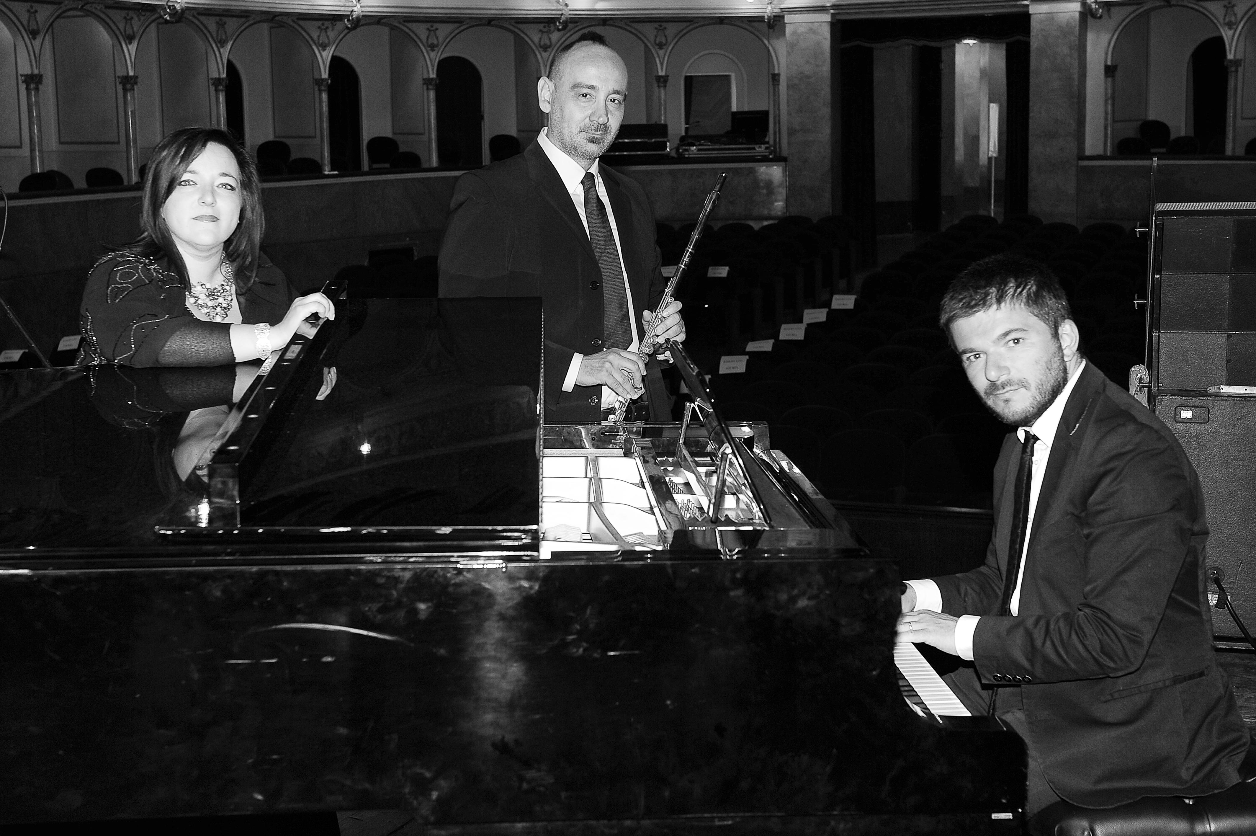 Primavera in musica al Foyer con il Musi' trio in Amor Sacro e Amor Profano