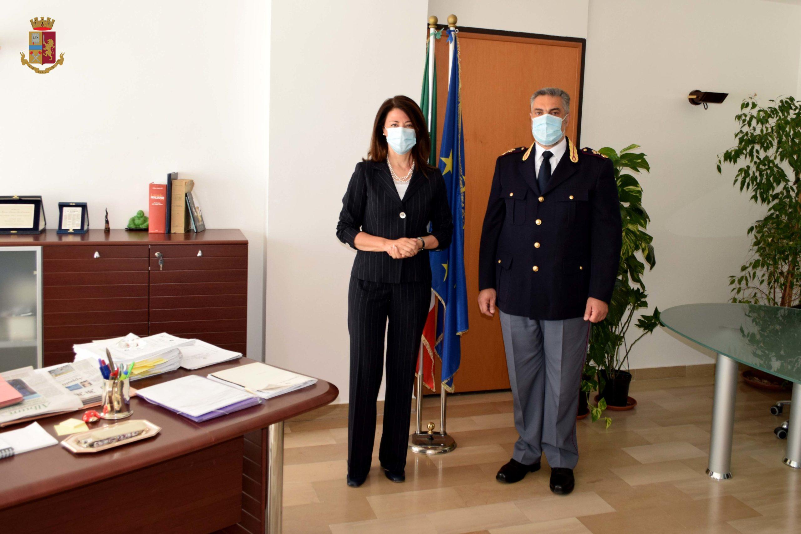 Questura Di Rieti Giuseppe Migliacci Alla Dirigenza Della Polizia Amministrativa