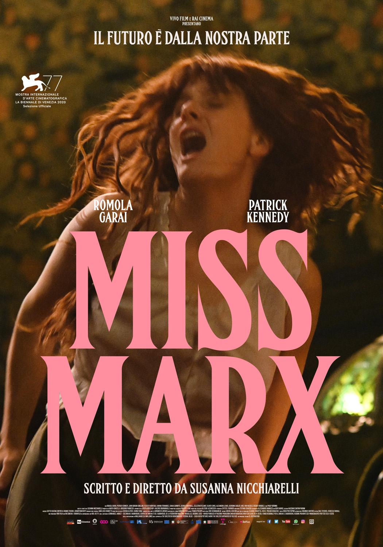 """Libri a tutto schermo / """"Miss Marx"""" di Susanna Nicchiarelli"""