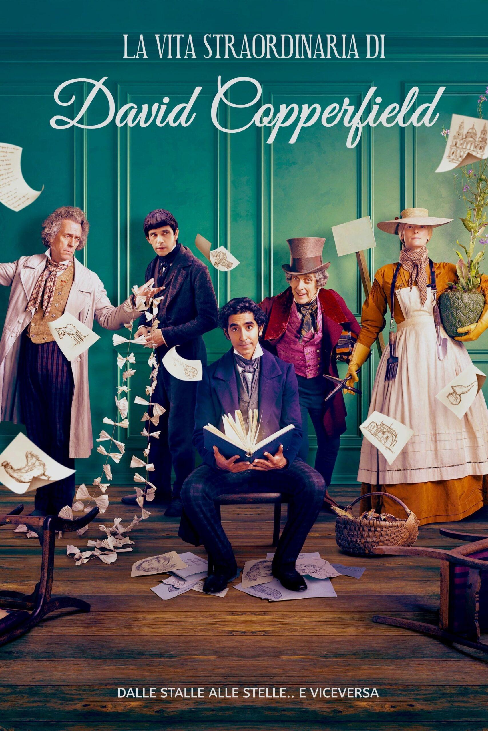 """Libri a tutto schermo / """"La vita straordinaria di David Copperfield"""" di Armando Iannucci"""