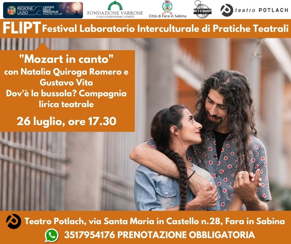 FLIPT / Mozart in canto