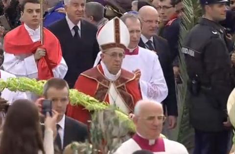 Papa Francesco - Domenica delle Palme