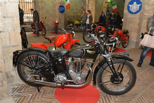 Mostra statica di motocicli d'epoca