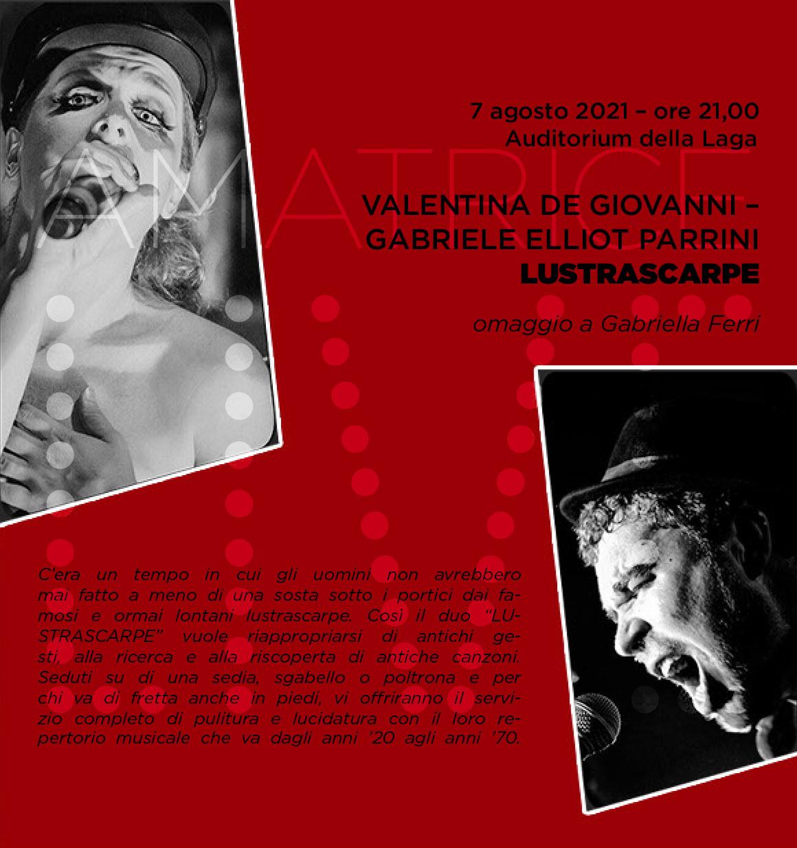 Amatrice Live / Lustrascarpe, omaggio a Gabriella Ferri