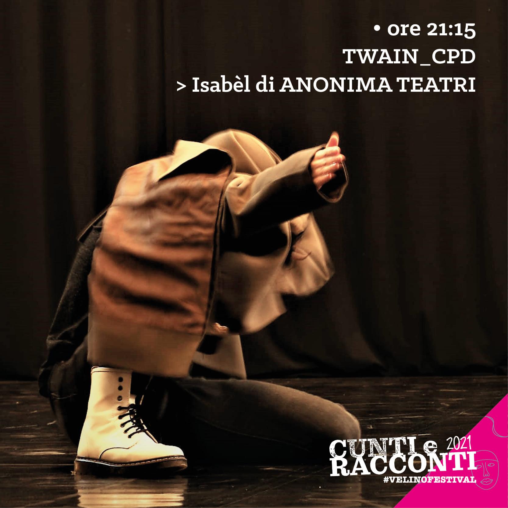 Cunti e Racconti Velino Festival / Twain_CPD/ Isabelle
